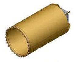 Вращательный буровой инструмент Колонковый бур KR-Z-S/H Модель для бурения среднепрочных скальных грунтов